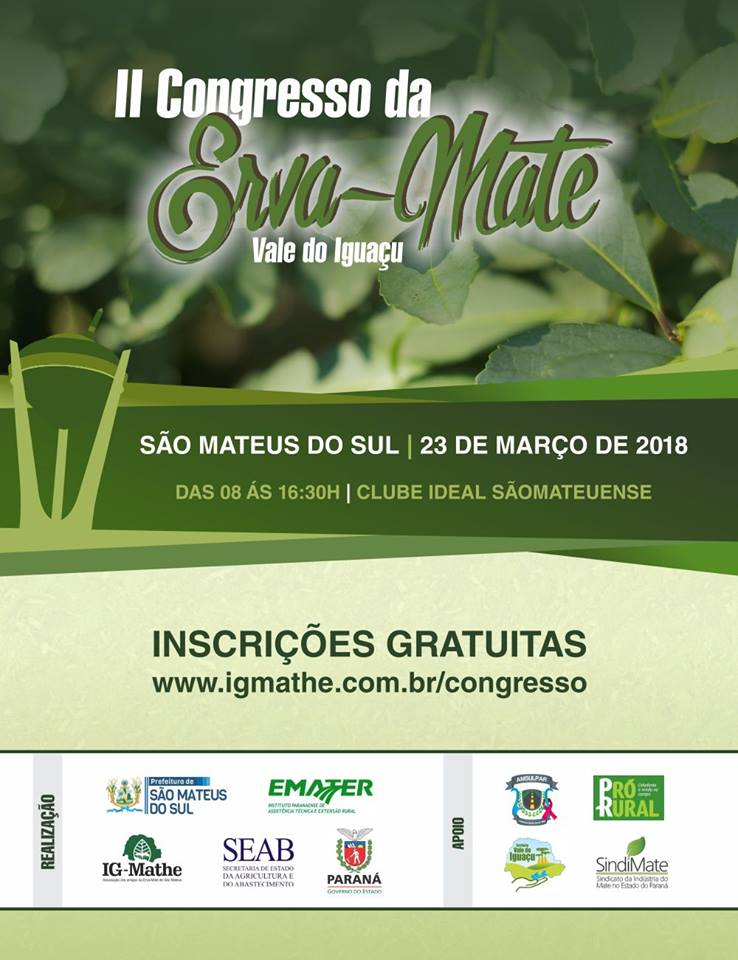 Noticia sao-mateus-do-sul-sera-sede-do-congresso-da-erva-mate-do-territorio-vale-do-iguacu